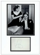 Mickey Rooney Autograph Signed Display